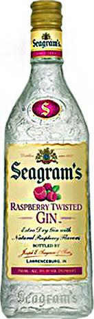 Seagram Gin Raspberry Twisted